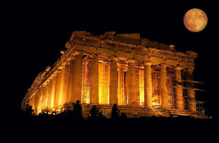 Parthenon (Acropolis)at night |Ancient Greece - Travel Europe Guide