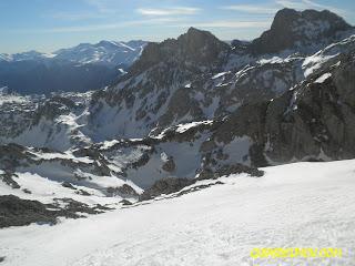 Cara norte del Pico San Carlos , guias del picu.com