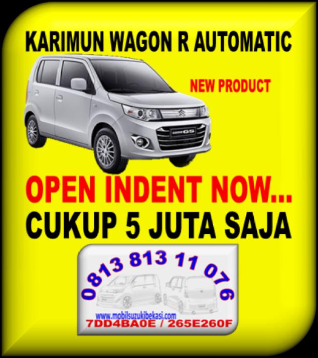PROMO KARIMUN WAGON R AUTOMATIC