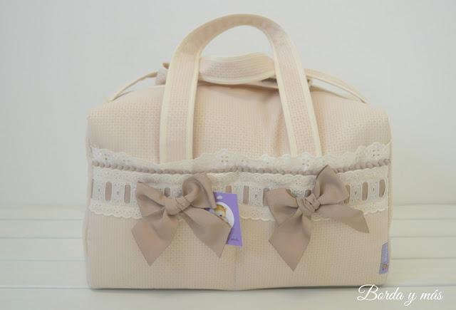 bolsa maternidad personalizada