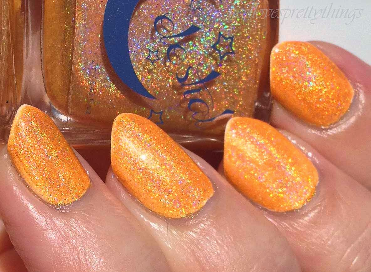 Celestial Cosmetics Trip-- The Electric You Collection, Summer 2014 swatch and review