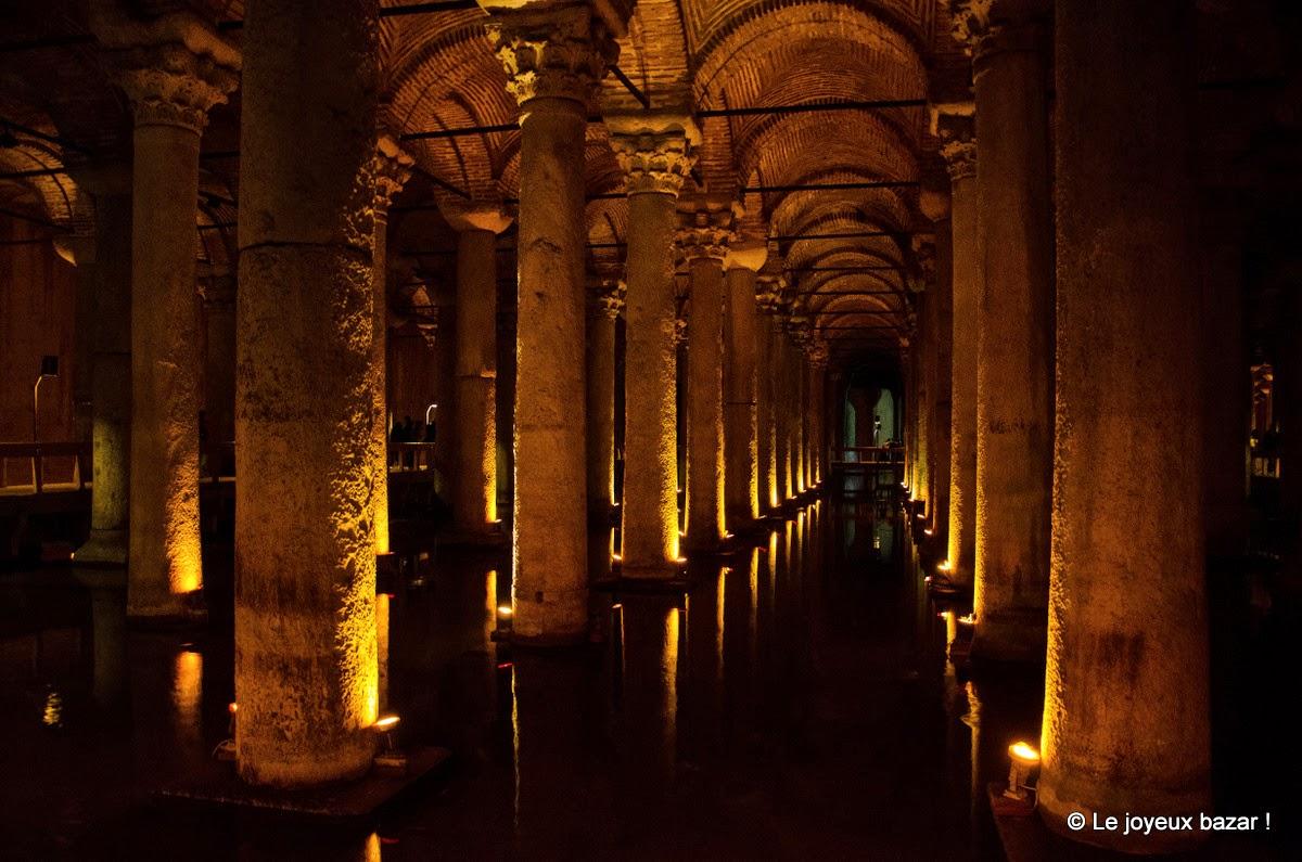 Istanbul - Sultanahmet - citerne basilique
