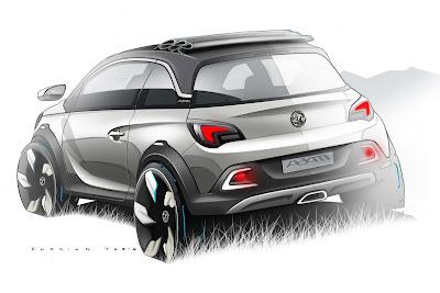 Opel Vauxhall Adam Concepts