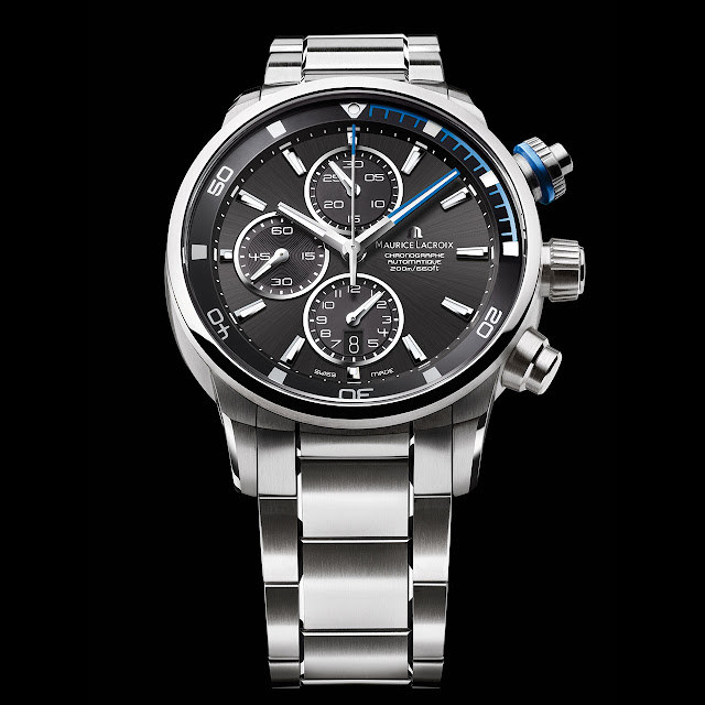 Maurice Lacroix Pontos S Watch steel