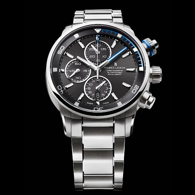 Maurice Lacroix Pontos S Watch steel