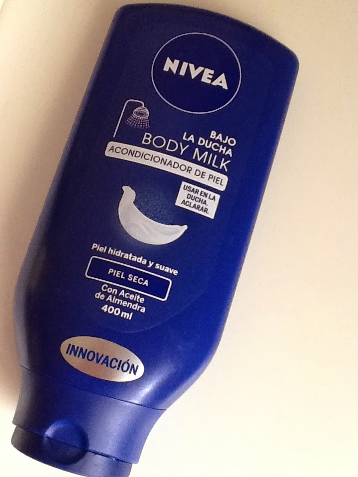 NIVEA in shower body milk