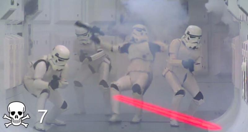 Star Wars Episoden IV-VI Death Count Supercut