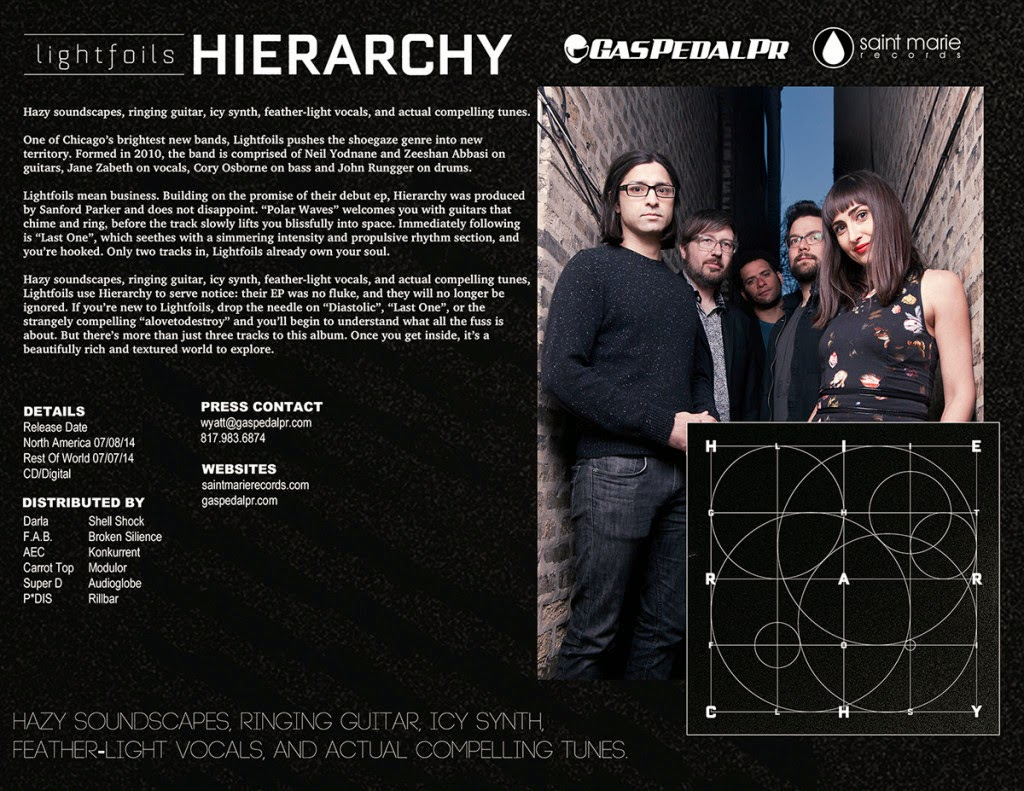 Chicago's Lightfoils Debut LP Hierarchy