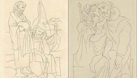Picasso'nun Bilinmeyen İllüstrasyonları
