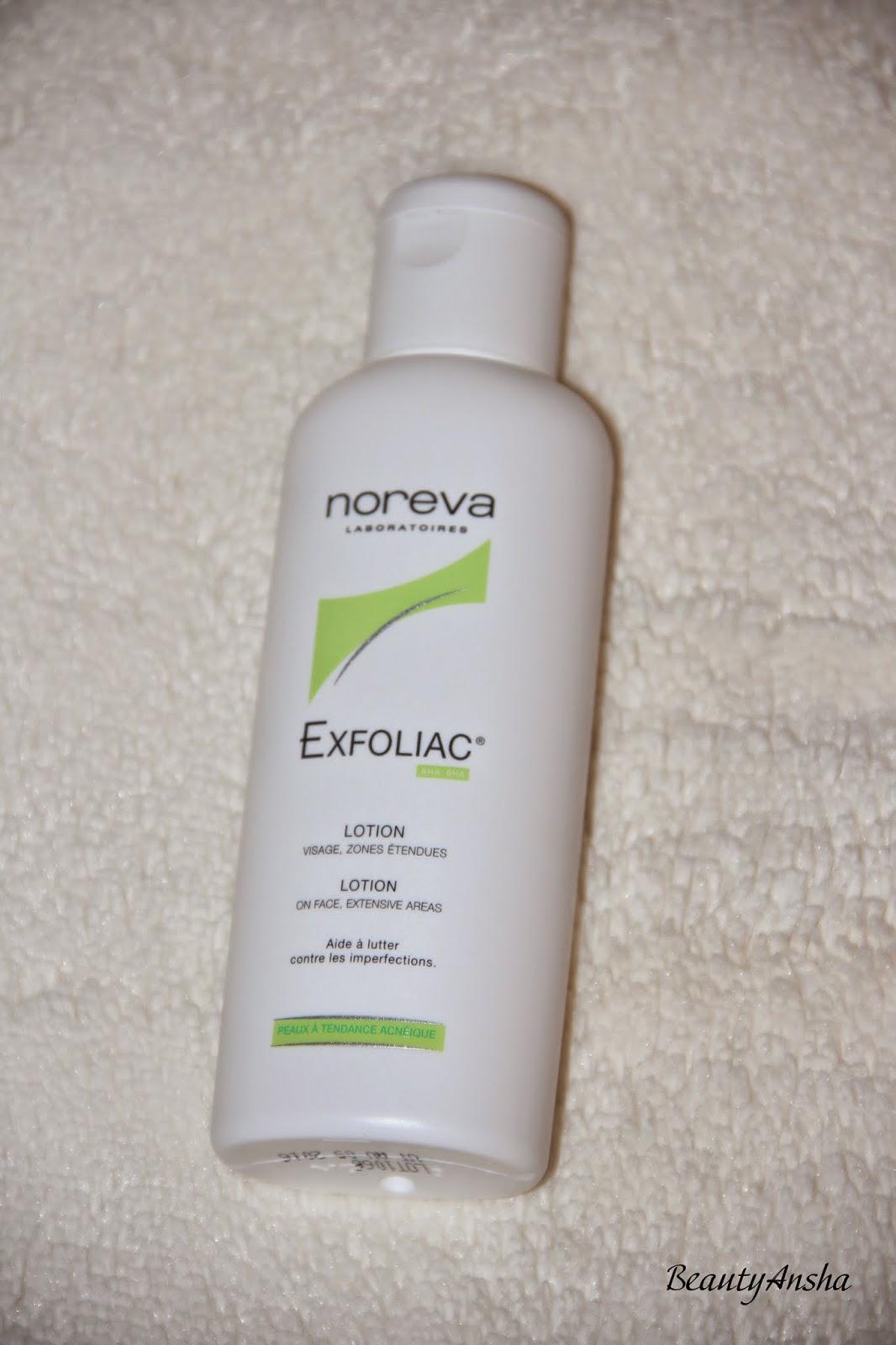 Noreva Exfoliac Скраб для лица и Лосьон спустя 5 лет в моем уходе