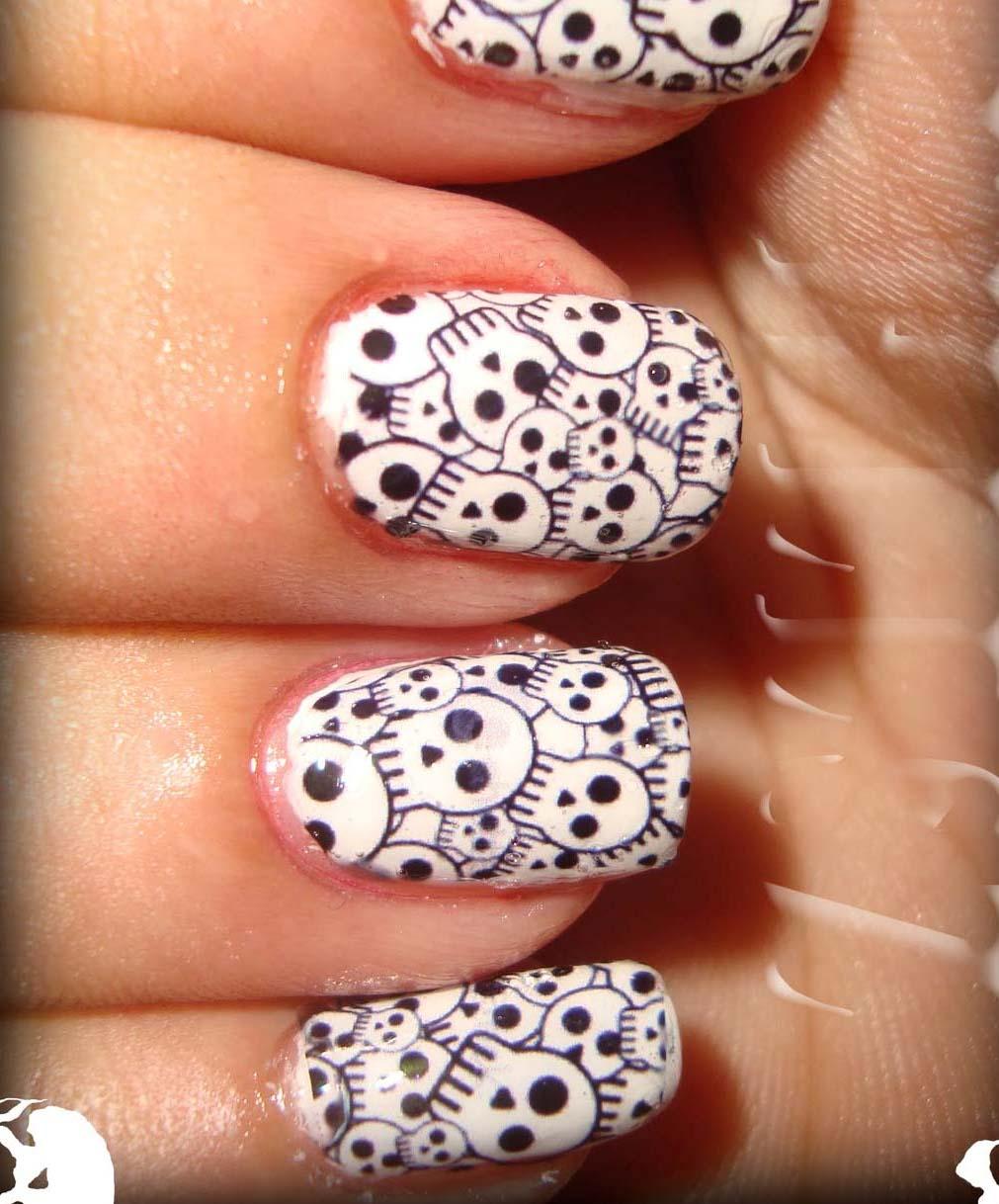 Nail designs skulls nail arts skullnailart edbeb9615384382020e1f8bd174a6c55 prinsesfo Image collections