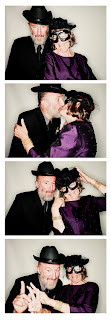 Pat and Kent - four photo booth picutres