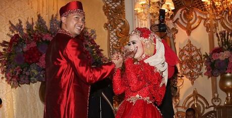 Foto Pernikahan Nuri Maulida dengan Pandu Kusuma Dewangsa