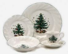 Dr. Dinnerware: Nikko Christmastime and Happy Holidays Retired