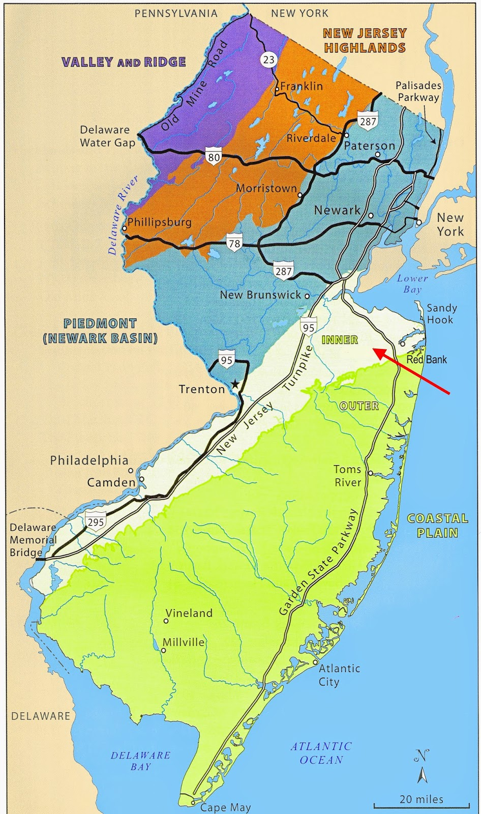 new jersey map updated forecast shows parts of nj ting heavy