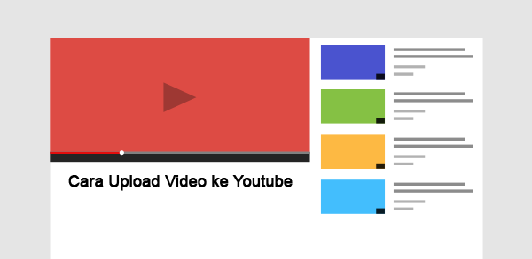 Cara Terbaru Upload Video ke Youtube