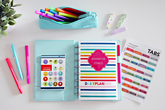 daily planners and organizers