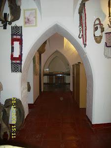 Antiguo museo etnográfico que estuvo situado en los bajos del palacio Conde de los Corbos.
