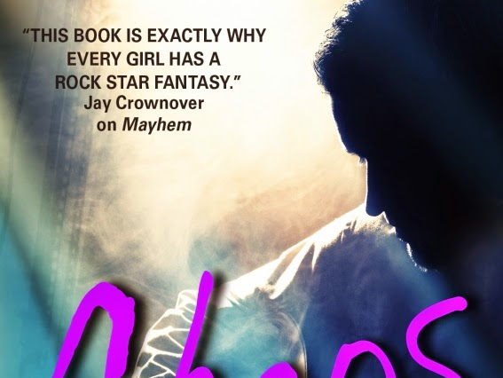 Cover Reveal for Chaos (Mayhem #3) by Jamie Shaw