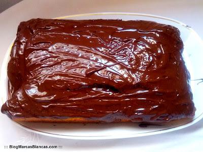Bizcocho casero recubierto de chocolate para cobertura Fin Carré de Lidl