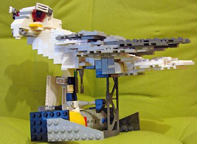 Elanio Azul de LEGO, por Sergio Ibarra Mellado