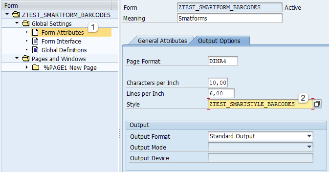 how to create table in smartforms in sap abap