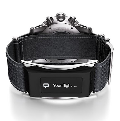 Coolest Smartwatch Attachments - Montblanc E-Strap