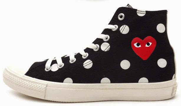 converse play cdg femme