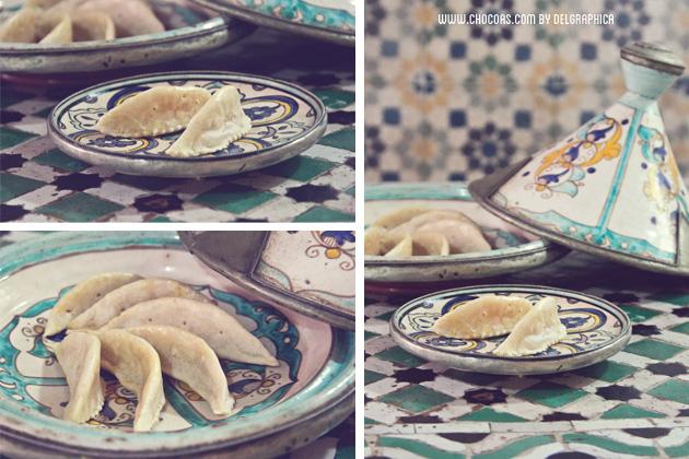 Marrakech taller de cocina - receta corne de gazelle