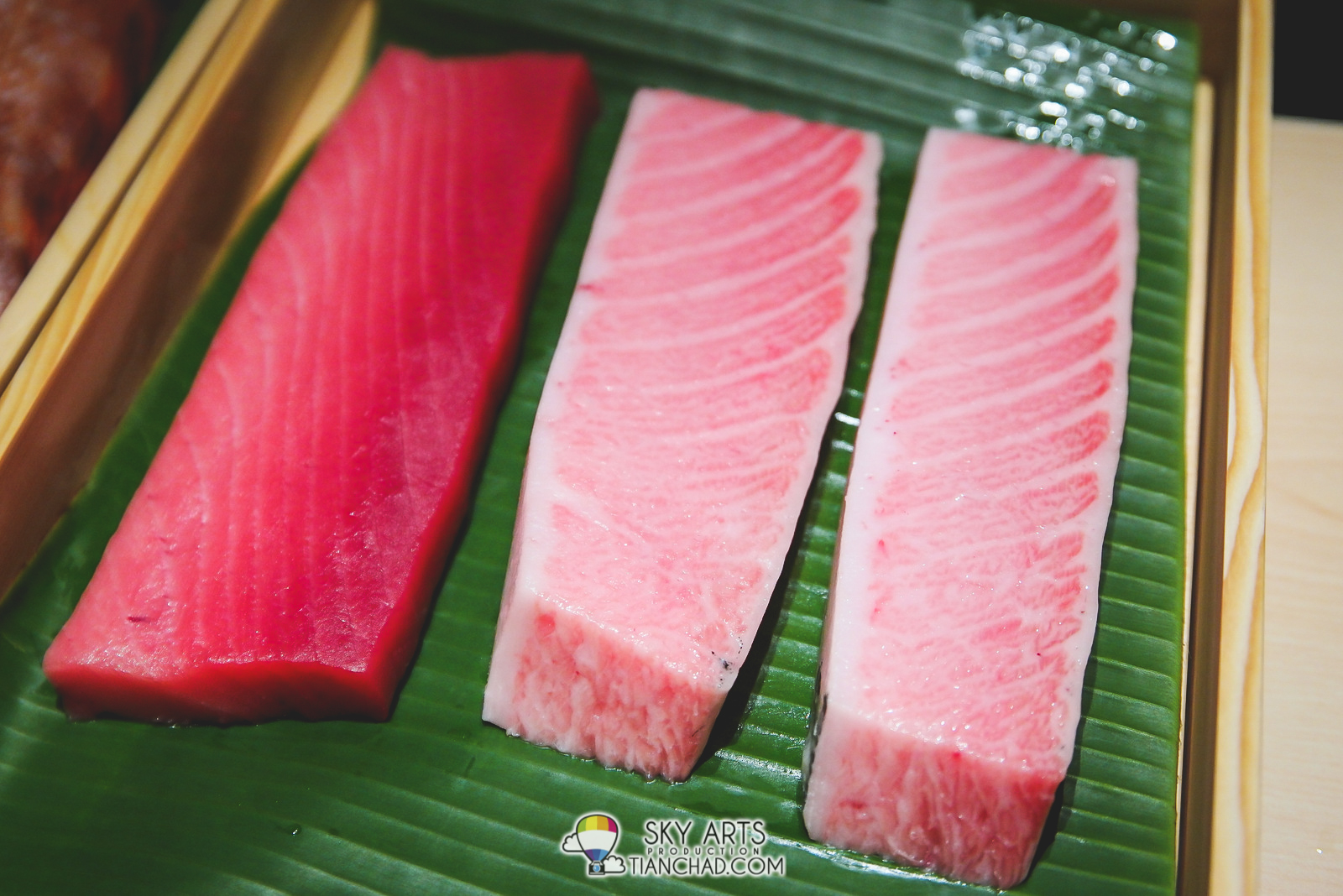If you are a sashimi lover you'll definitely love this part