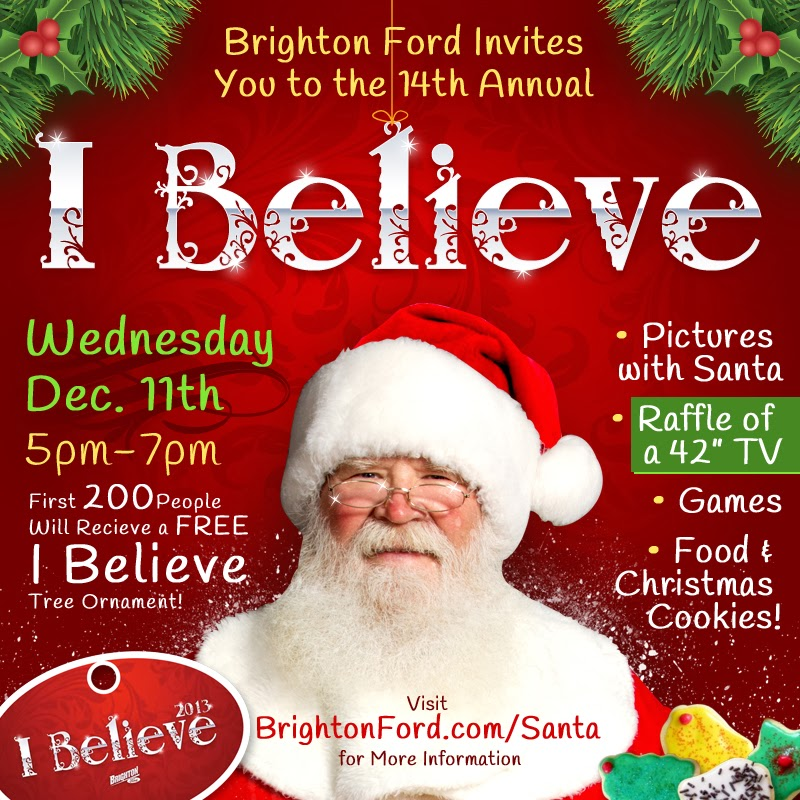 Santa Claus's 14th Visit to Brighton Ford