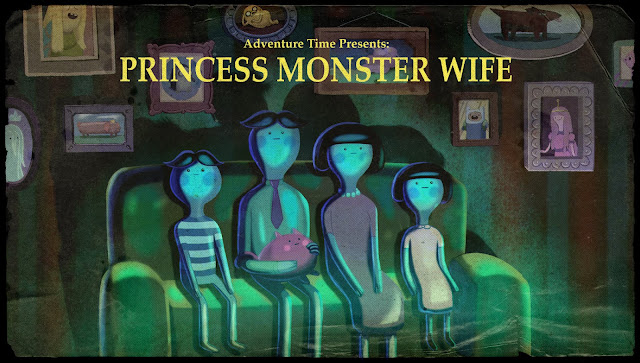 Title cards in cartoons are a lost art, so it's dope that Adventure Time has brought them back. Another lost art is closing voice actor credits I can actually fucking read and not have to freeze-frame or Google.