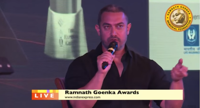 Bollywood actor Aamir Khan came down heavily against growing intolerance in the country on Monday going to the extent of saying his wife Kiran wanted to move out of the country.  He said she was afraid of opening the newspapers and feared for the future of their child.  There was a growing sense of alarm, despondency and depression in him, he added. Aamir was referring to the incidents of violence in the last seven or eight months, which he described as alarming.