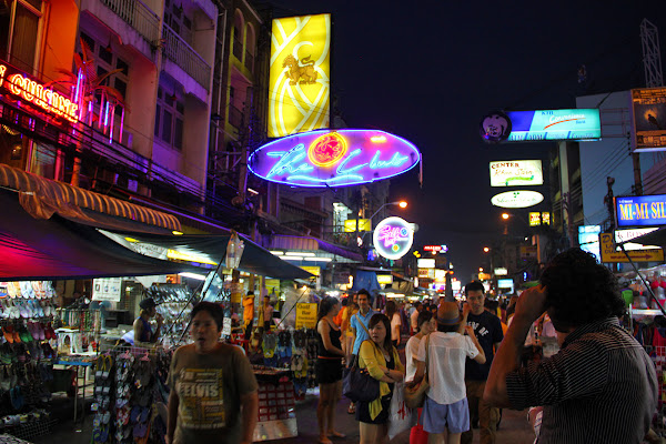 Calle Khaosan Bangkok Tailandia