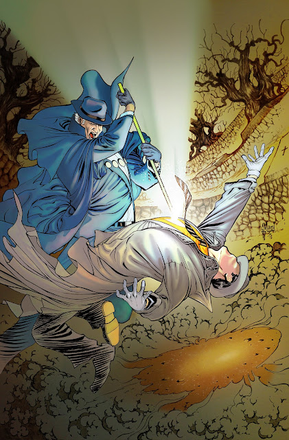 Making of the PHANTOM STRANGER 13 cover by Guillem March