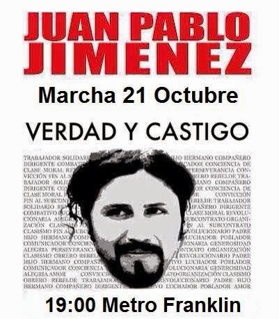 MARCHA VERDAD Y CASTIGO JUAN PABLO JIMENEZ