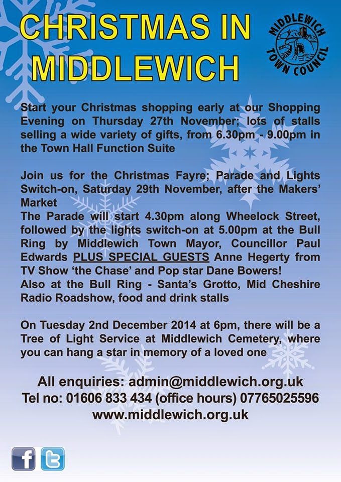 CHRISTMAS IN MIDDLEWICH 2014