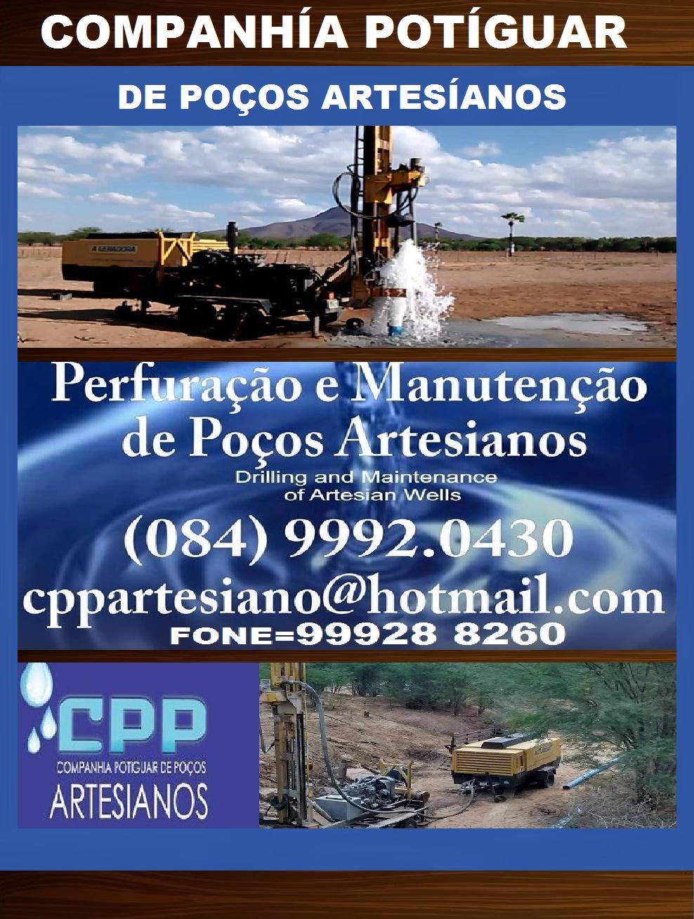 COMPANHÍA POTÍGUAR DE POÇOS ARTESÍANOS.