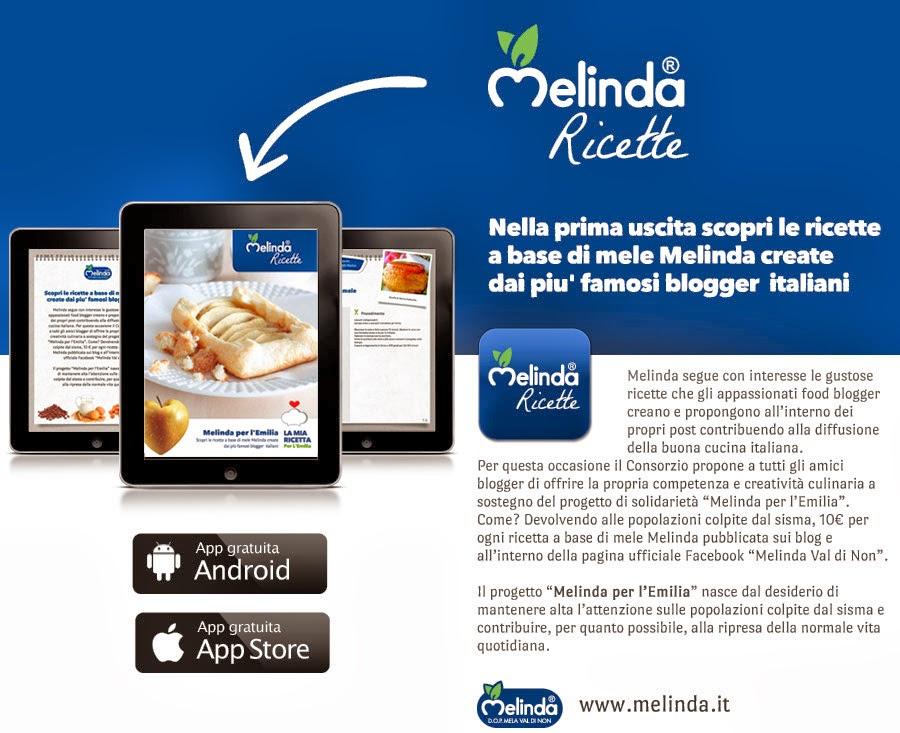 Le ricette Melinda per l'app!