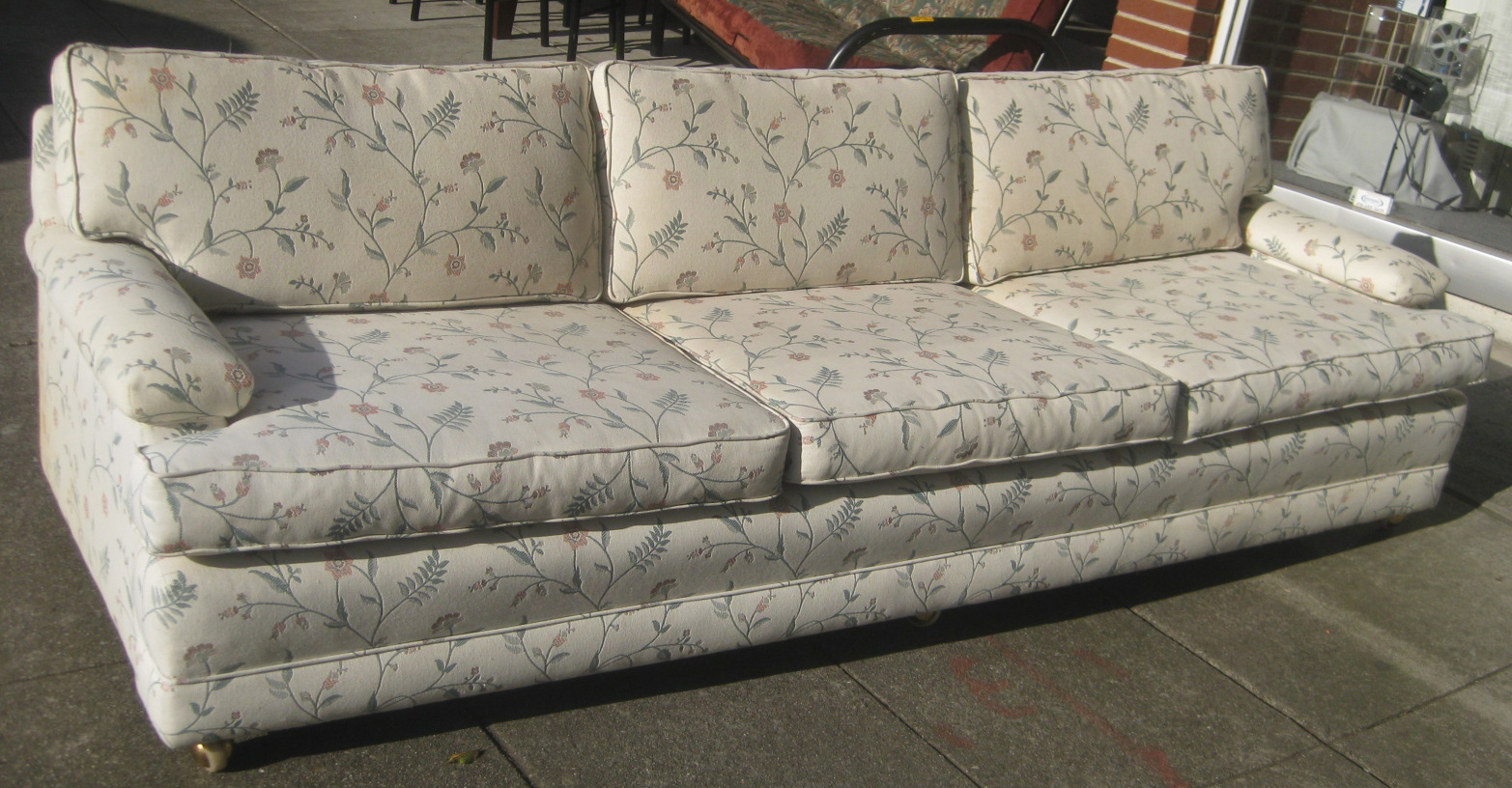 Uhuru furniture collectibles sold eight foot long for 8 foot couch