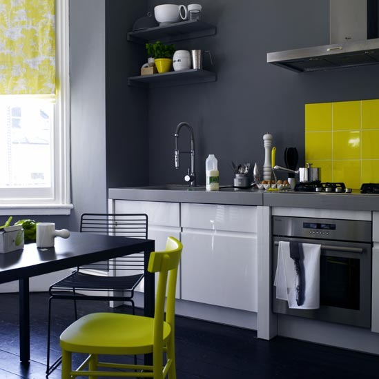 Lime Green And Black Kitchen Accessories: Home Design: Oktober 2011
