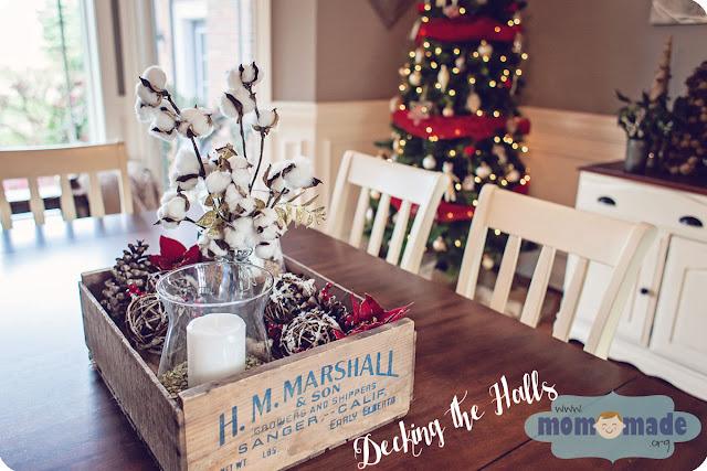 Rustic Farmhouse Christmas Decor by Mom-Made