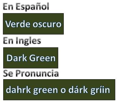 Como se dice color verde oscuro en ingles y como se escribe color verde oscuro en ingles blog - Habitacion en ingles como se escribe ...