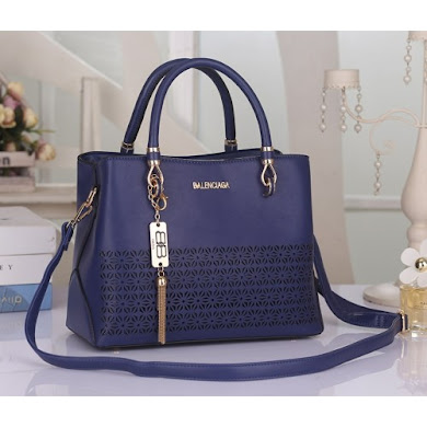 BALENCIAGA BAG - NAVY BLUE