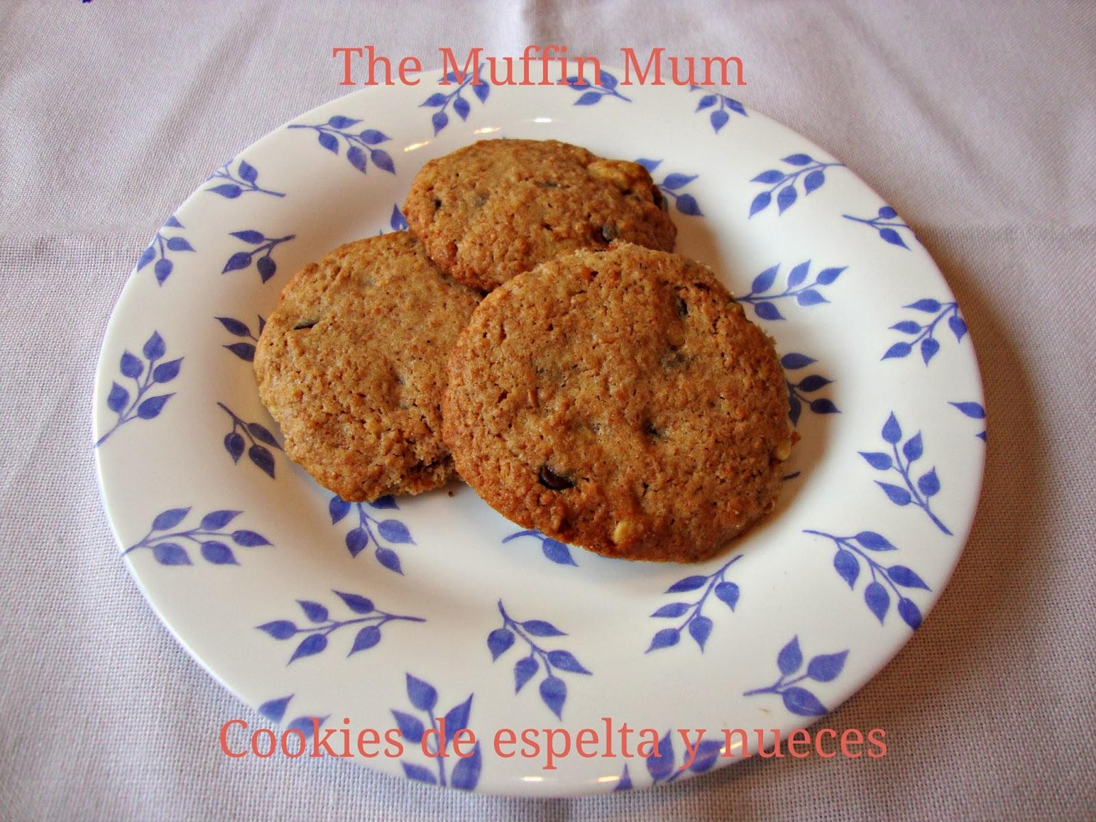 Cookies de espelta y nueces