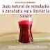 Jugo natural de remolacha y zanahoria para limpiar la sangre