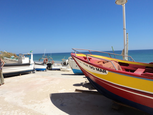 Boats in Salema