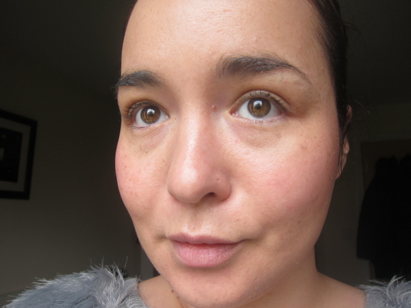Kiehl's BB Cream Before and After - the After Shot!