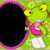 Pepe and Pepa the Frog: Free Printable Invitations.
