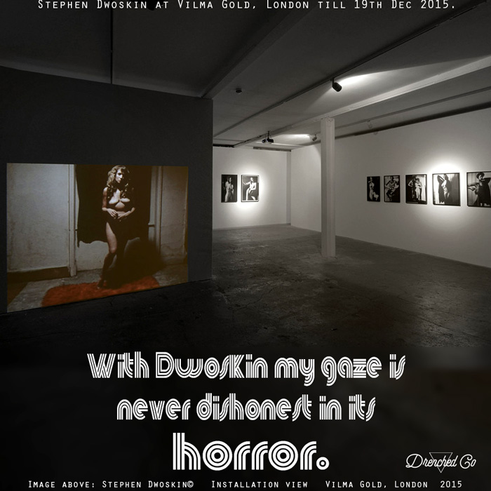 Image of Vilma Gold, London with art exhibition review by Drenched Co.